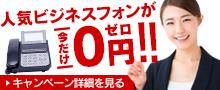ビジネスフォン販売のOFFICE110
